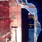 Appartement Tour Paris 13 murs défoncés