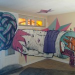 Graff en intérieur