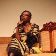 Leonora Miano à la rencontre de son public à L'Atrium, Martinique