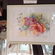 hibiscus et plumbago